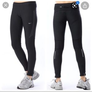 Nike Dri-Fit Running Legging with Zip Ankle